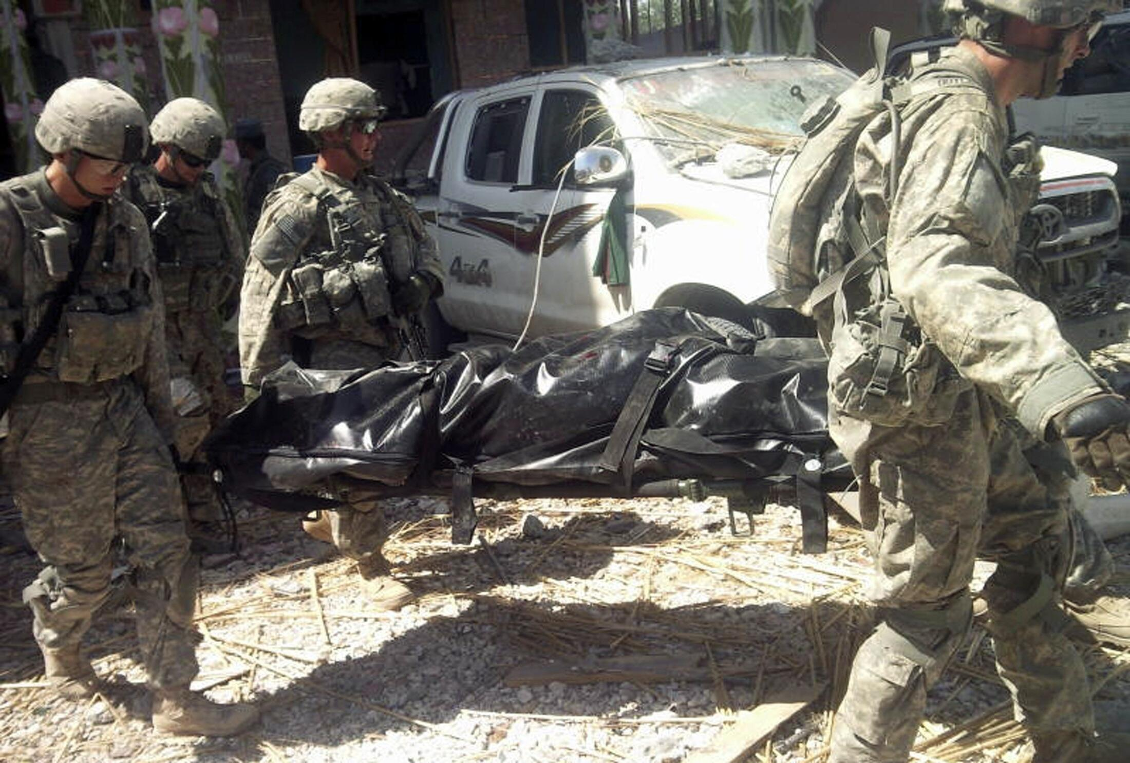 Recent attacks have claimed the lives of 12 Nato soldiers in Afghanistan.
