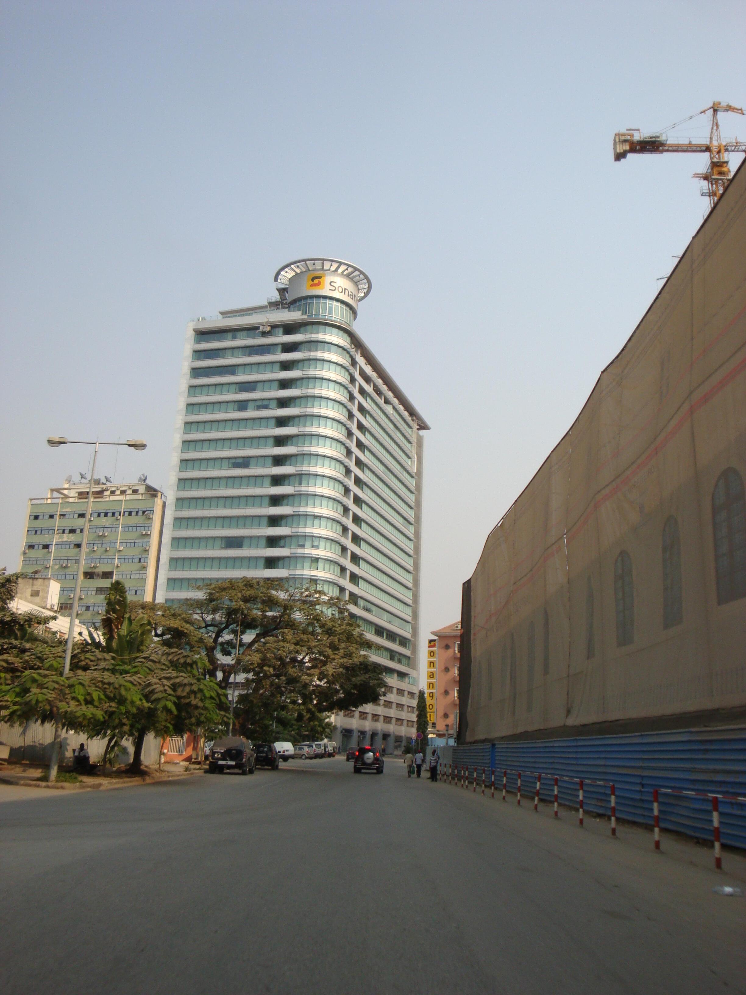 Sede da Sonangol em Luanda.
