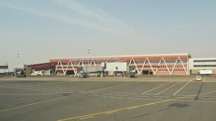 Aéroport international Modibo Keïta de Bamako, au Mali.