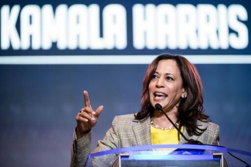 A senadora americana Kamala Harris é a primeira candidata negra a vice-presidente dos Estados Unidos.