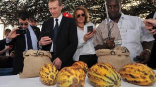 A l'usine de chocolat Cémoi, à Abidjan, le 6 février 2014.
