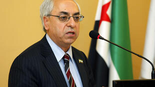 The new president of the Syrian National Council, Abdelbasset Sida in Istanbul, 10 June, 2012