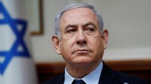Le Premier ministre israélien Benyamin Netanyahu, le 9 février 2020, à Jérusalem.