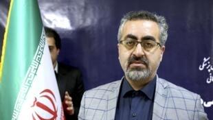 伊朗衛生部發言人賈漢普爾資料圖片
