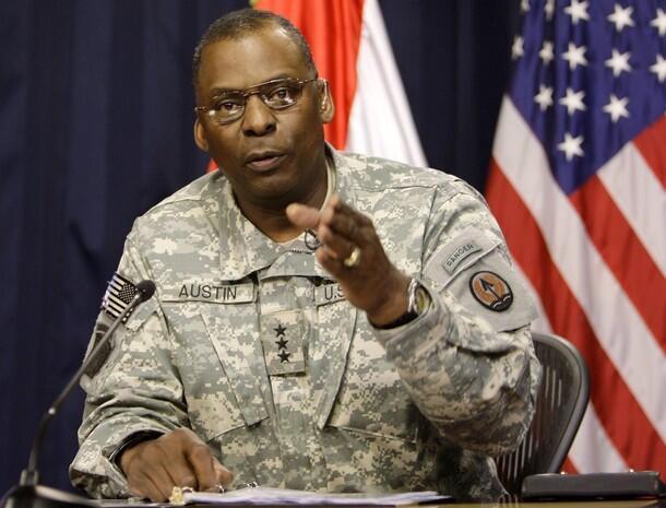 ژنرال Lloyd Austin  فرمانده عملیات نیروهای آمریکایی در عراق