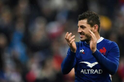 Bouthier the booter: France's full back Anthony Bouthier drew applause for one remarkable long kick