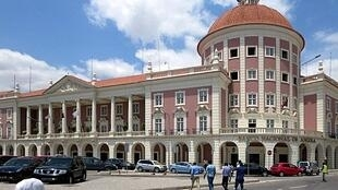 Banco Central Angolano, Luanda.