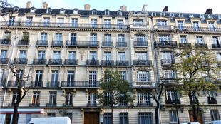 A Haussmann-style building in Paris