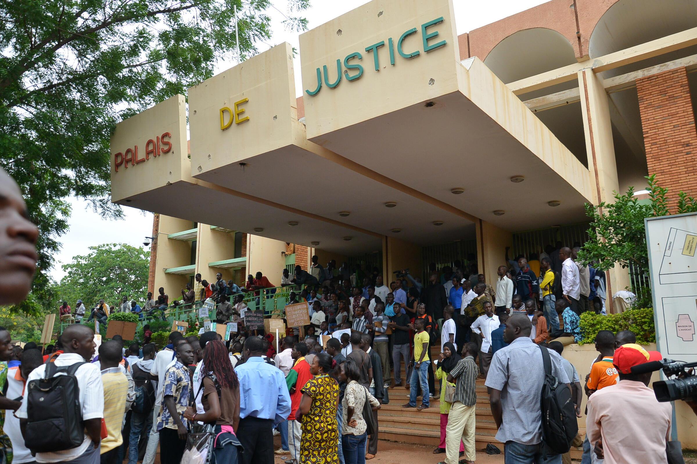 La palais de justice de Ouagadougou en 2013 (photo d'illustration).
