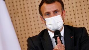 Shiugaban Faransa Emmanuel Macron