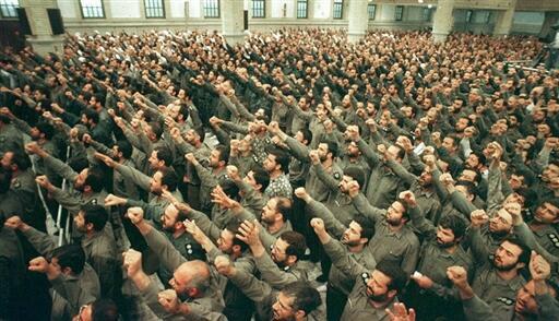 Des Gardiens de la Révolution islamique à Téhéran.
