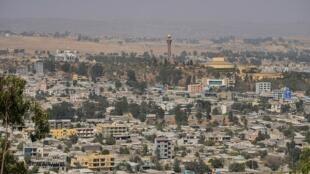 La capitale de la province éthiopienne du Tigré, Mekele, le 25 janvier 2018. (Photo d'illustration).