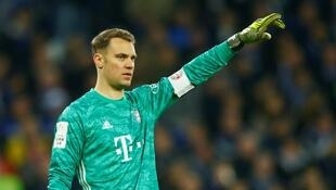 Manuel Neuer's Bayern Munich led the German Bundesliga before it was suspended in March due to the spread of the coronavirus.