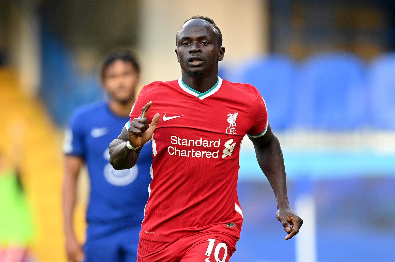 Sadio Mané (Liverpool), lors du match face à Chelsea, le 20 septembre 2020.