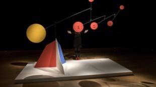 La sculpture, «Untitled» (c'est son nom), estimée à plusieurs millions d'euros d'Alexander Calder.