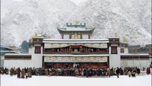 藏傳佛教聖地之一拉卜楞寺