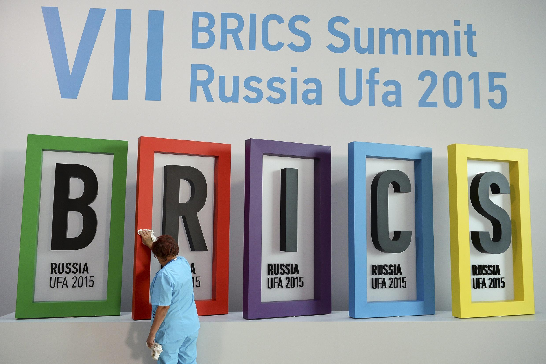 2015 BRICS summit being held in Ufa, Russia.