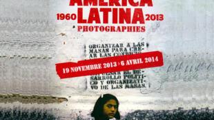 Detalle del afiche de la exhibición.