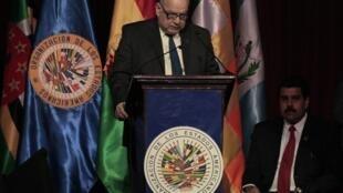 O secretário-geral da Organização dos Estados Americanos (OEA), José Miguel Insulza.