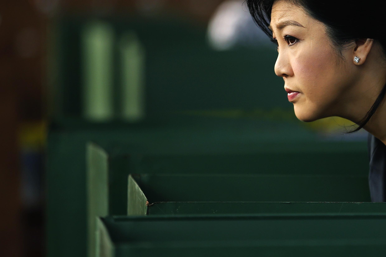 A  primeira-ministra da Tailândia, Yingluck Shinawatra