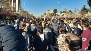 تجمع اعتراض به گرانی در مشهد
