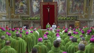 В завершение саммита все участники собрались на мессу в Апостольском дворце. 24 февраля 2019 г.