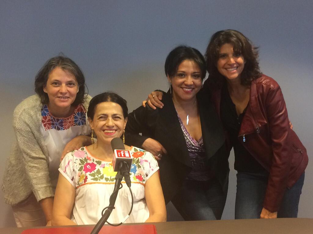 Yvonne Sanchez, Maria Eugenia Gomez Vignola, Mercedes Ahumada, Ximena Vignola.