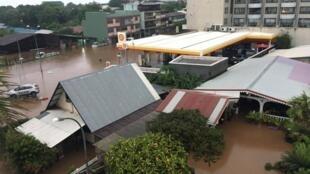 Наводнение на Таити