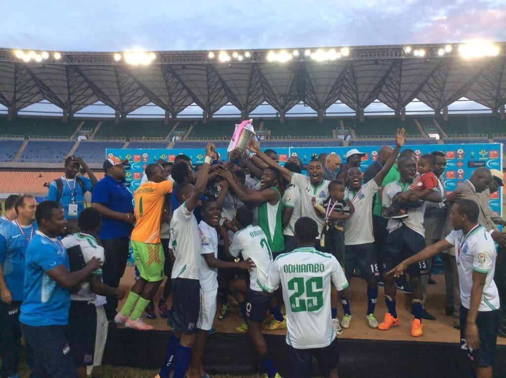 Mabingwa wa mwaka 2015 wa CECAFA Azam FC kutoka Tanzania