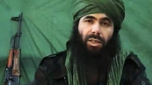 Undated photo of al-Qaeda leader Abdelmalek Droukdel, also known as Abou Moussa Abdelouadoud