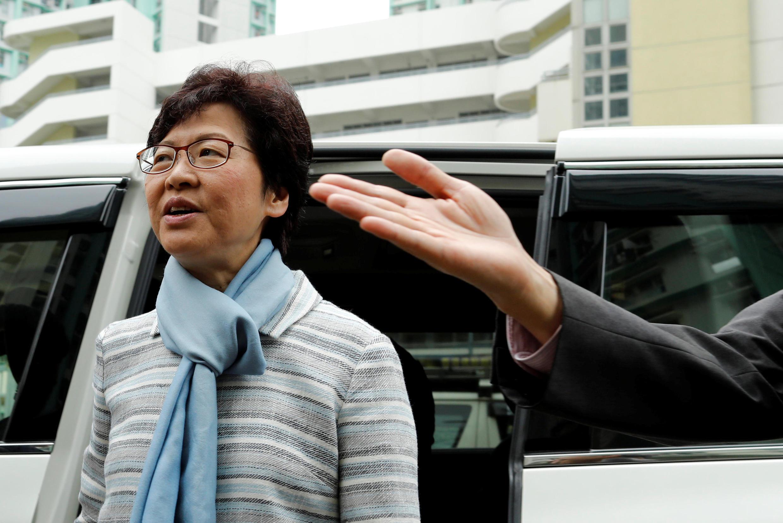 北京欽定的香港特首人選林鄭月娥