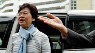 Carrie Lam sabuwar shugabar Hong Kong