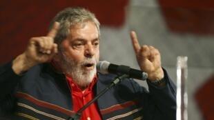 Le président brésilien Lula Da Silva.