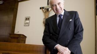O presidente do Instituto para Obras Religiosas do Vaticano, Ettore Gotti Tedeschi.