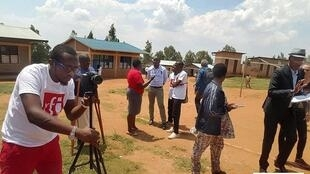 Une formation était organisé pour six membres de clubs RFI de la région des grands lacs sur l'apprentissage du français.