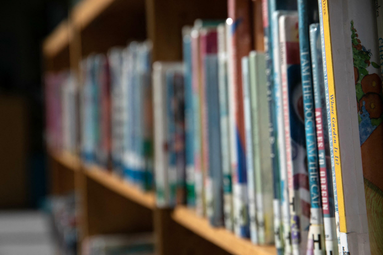 La bibliothèque d'une école primaire