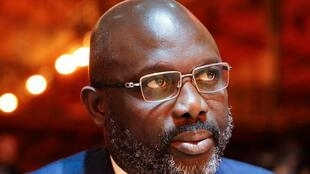 File photo of Liberia President George Weah, who has come under fire for nominating a Nigerian national with questionable Liberian citizenship for am anti-corruption position.