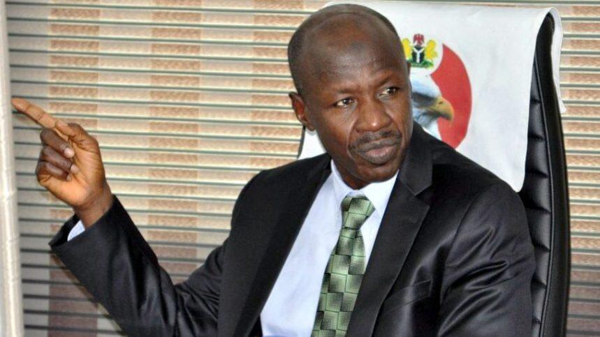Mukaddashin shugaban hukumar EFCC ta Najeriya Ibrahim Magu.