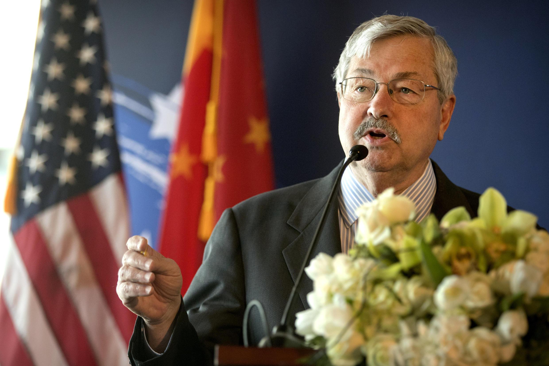 美國新任駐華大使2017年6月30日在北京。
