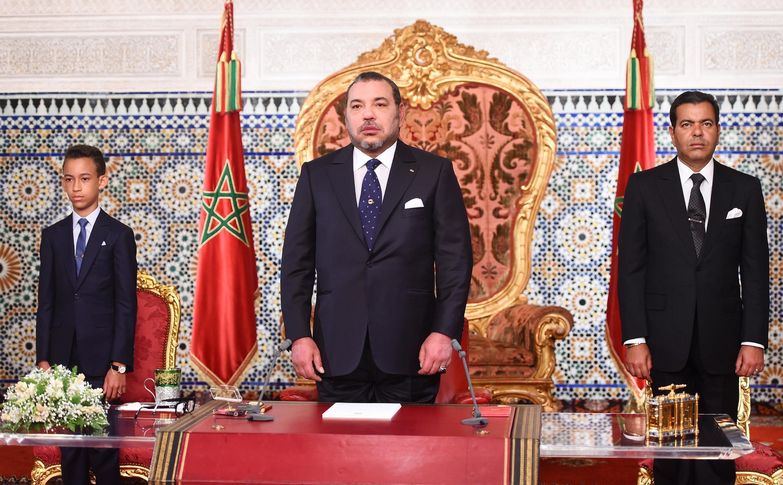 Le roi Mohammed VI, ici en 2015.