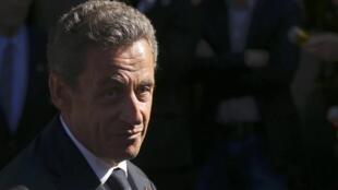 Nicolas Sarkozy na Faransa