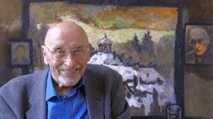 Художник, легендарная фигура советского неофициального искусства Оскар Рабин