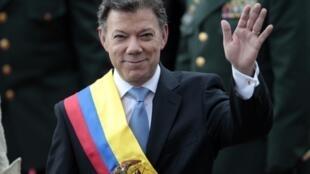 Juan Manuel Santos, novo presidente da Colômbia