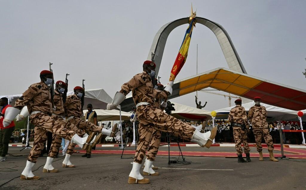 soldat funéraills déby tchad armée