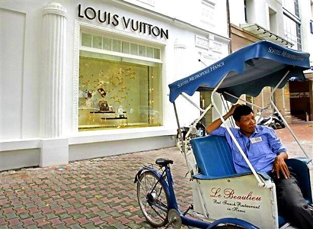 存檔圖片:路易威登在亞洲