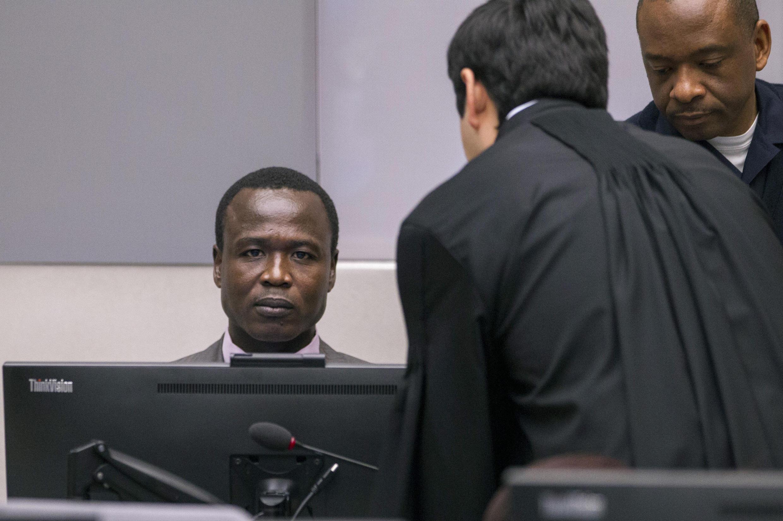 Dominic Ongwen, mbele ya Mahakama ya Kimataifa ya Jinai (ICC).