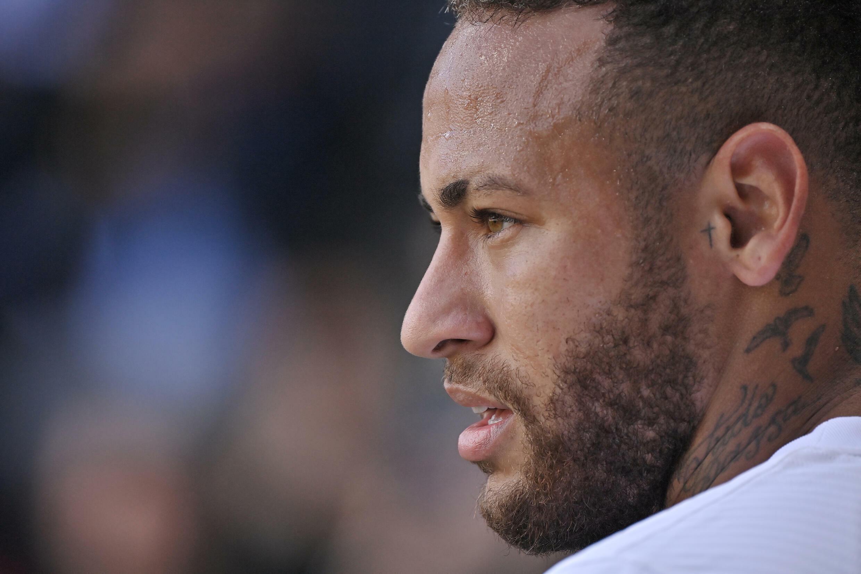 El brasileño Neymar cree que el Mundial de Catar 2022 será su última Copa del Mundo. En esta foto, el jugador del PSG em Rennes, el 3 de octubre de 2021.