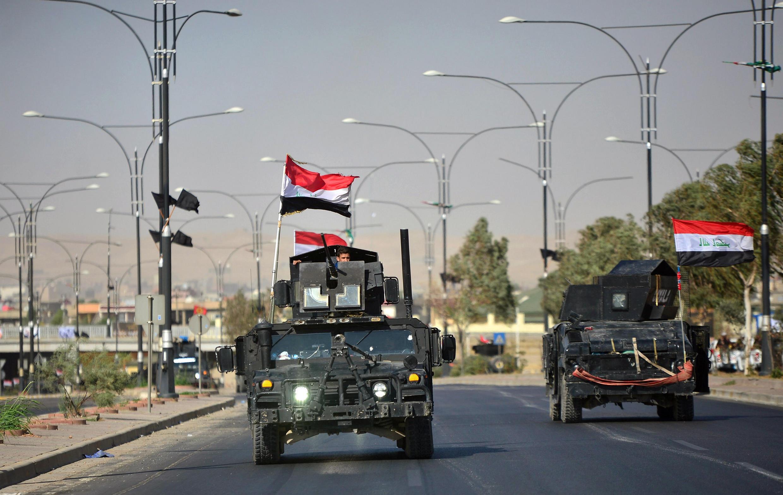 Ảnh minh hoạ: Quân đội Irak vào Kirkuk. Ảnh ngày 16/10/2017.