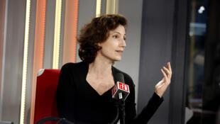 Audrey Azoulay, directrice de l'Unesco.