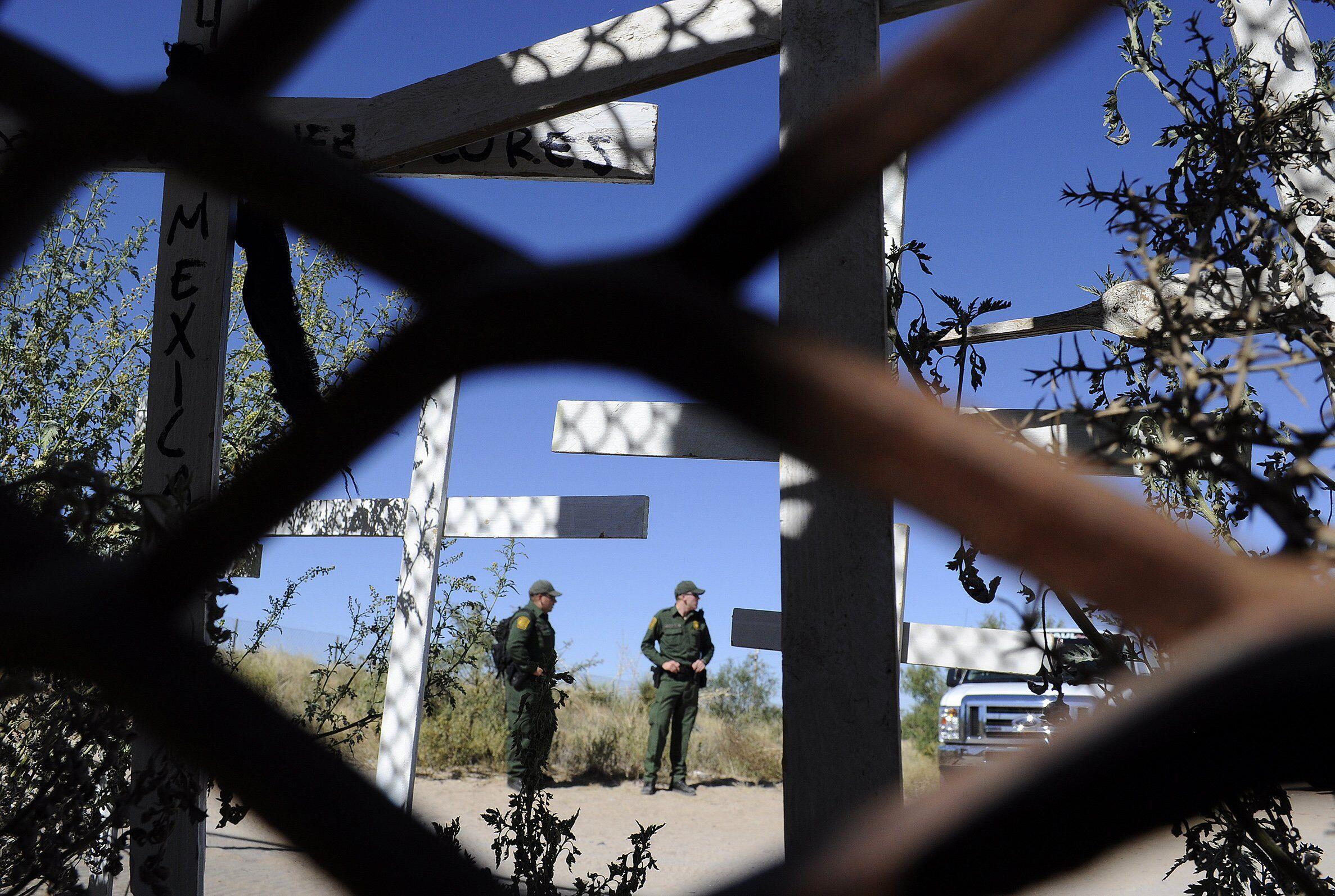 La frontera con EE. UU. en Ciudad Juárez. La última en cruzarse delante del sueño de miles de inmigrantes latinoamericanos cada año.